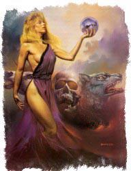 фото колдуньи и ведьмы Цирцеи