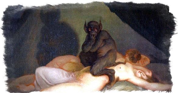 Инкуб — признаки присутствия демона - как вызвать инкуба