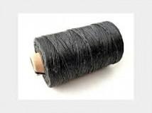 плотные черные нитки