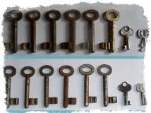 7 ржавых ключей
