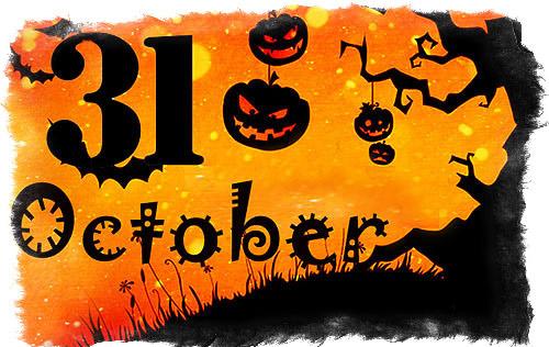 Какого числа Хэллоуин - время отмечать праздник