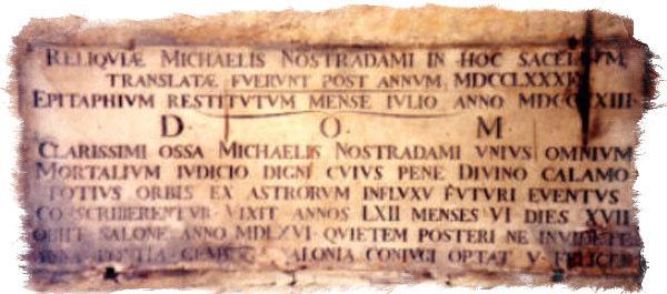 Послание Нострадамуса Генриху Второму и сыну Цезарю