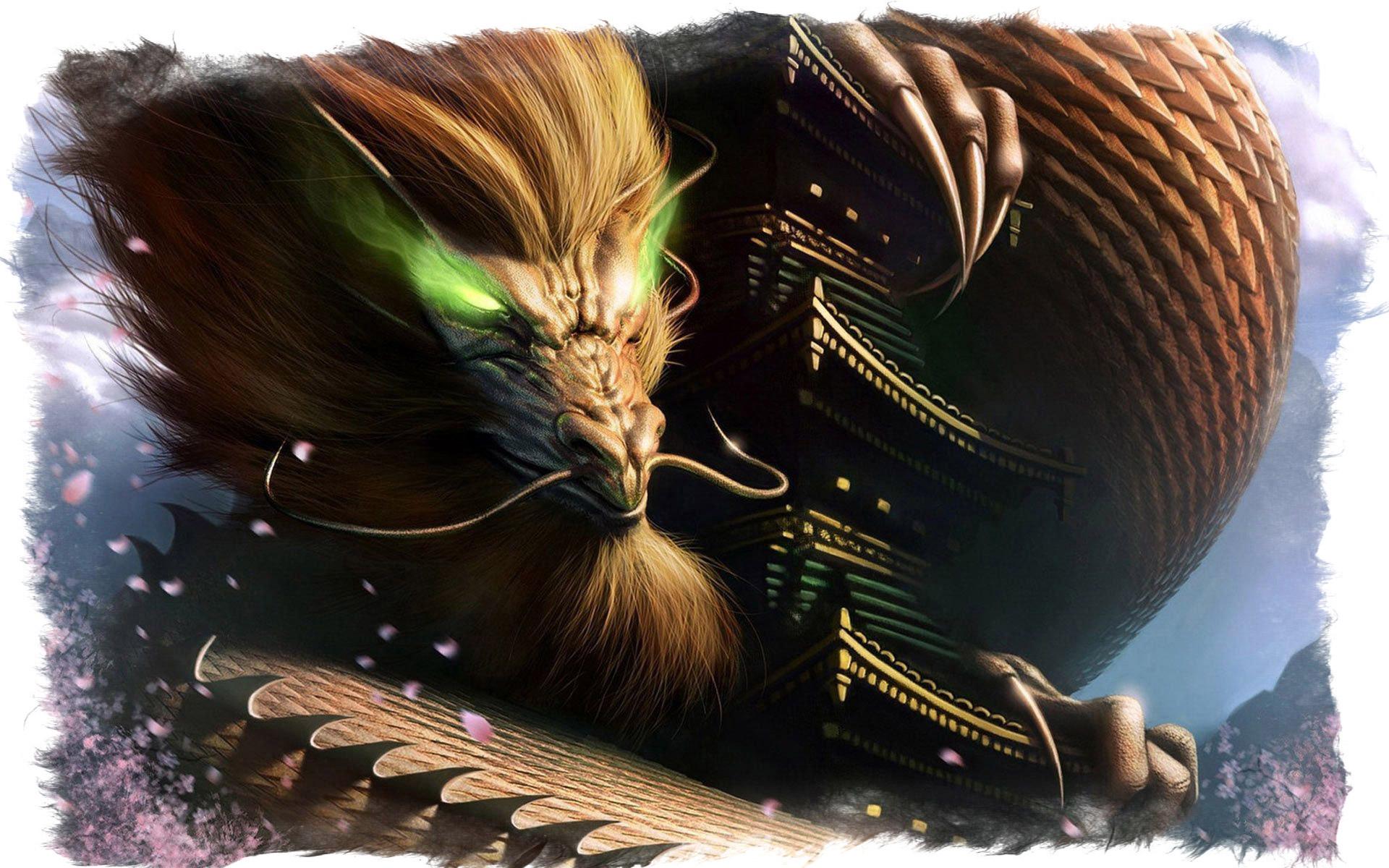 Как выглядит мифическое существо китайский дракон