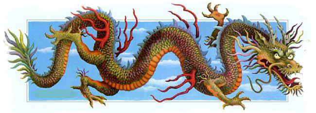 Китайские мифы и легенды о драконах