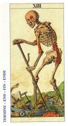 карты таро классические толкование - Смерть