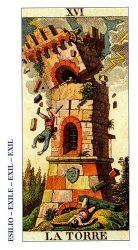 карты таро классические толкование - Башня