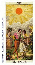 карты таро классические толкование - Солнце