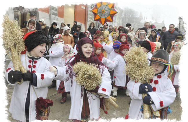 Праздник Коляда - традиции древних славян