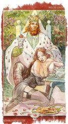 Король Жезлов Таро — значение в отношениях