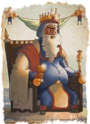 Король Посохов Таро — значение на уровне сознания