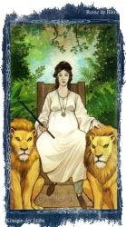 Королева Посохов Таро — значение для саморазвития