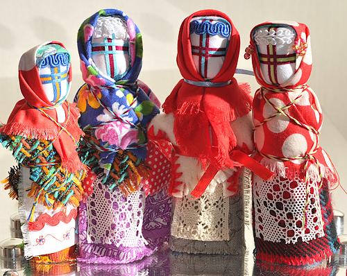 Кукла Веснянка - разновидности кукол оберегов у древних славян
