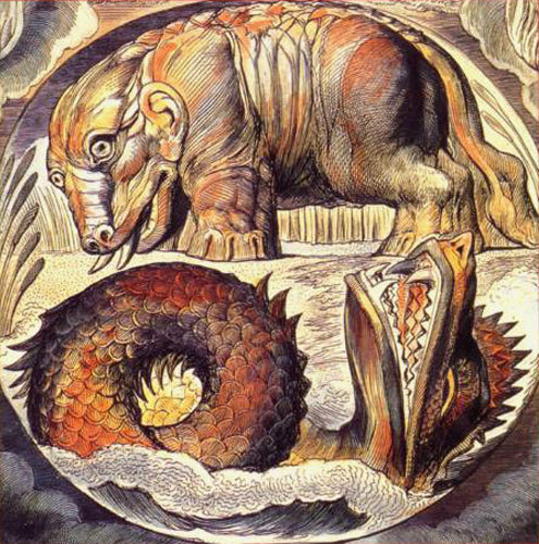 бегемот и левиафан в книге иова
