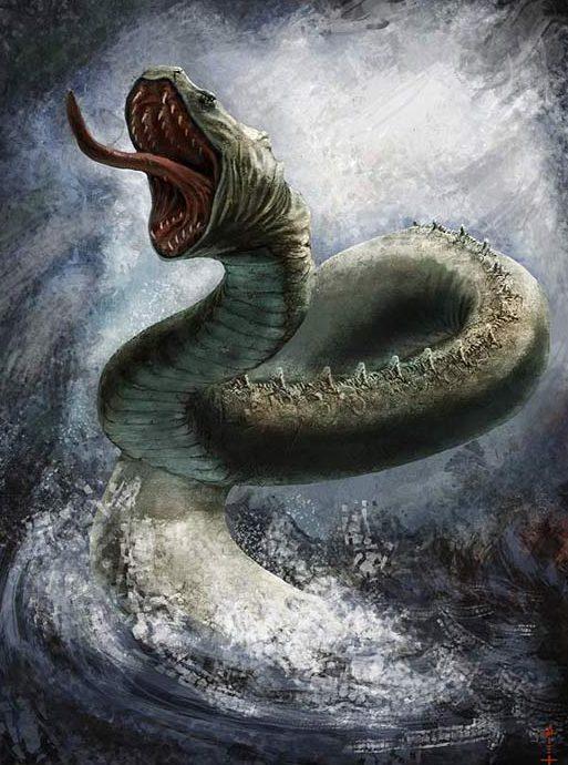 левиафан морское чудовище