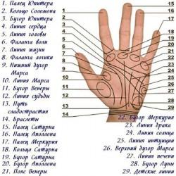 Линия смерти на руке в хиромантии с расшифровкой - знаки смерти на руке