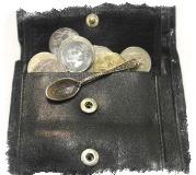 Ложка Загребушка - серебряный талисман для привлечения денег