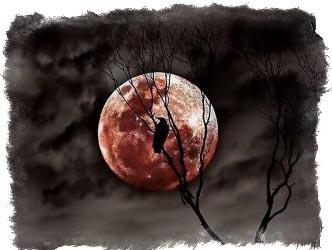 красная луна приметы