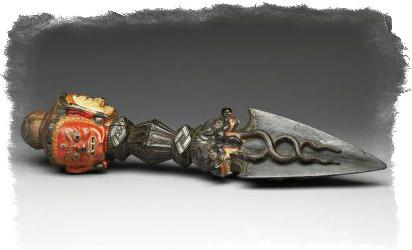 пурба ритуальный нож