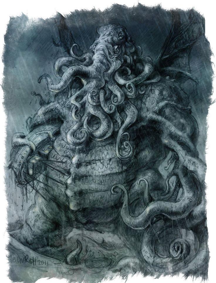 Ику-Турсо —морское мифическое чудовище