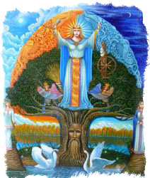 макошь славянская богиня