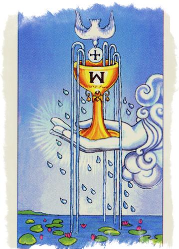 Масть Таро Кубки — значение водной стихии
