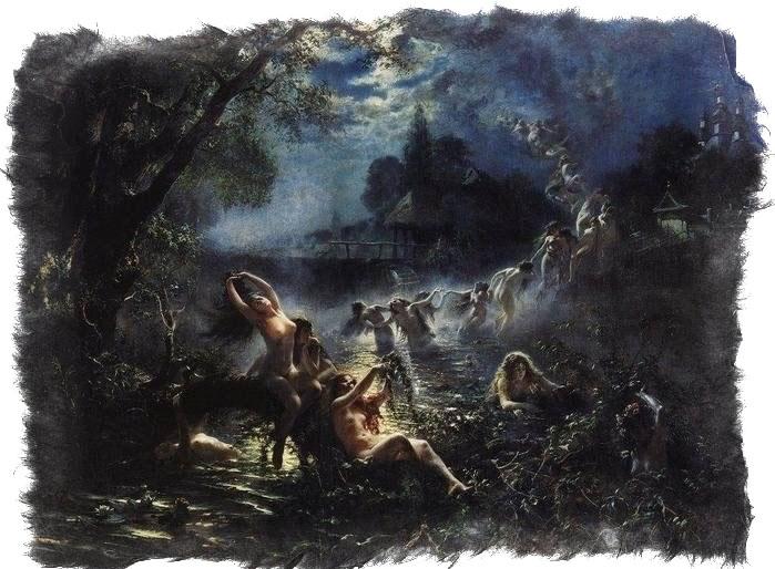 Русалки и мавки-навки — как защититься от злых духов