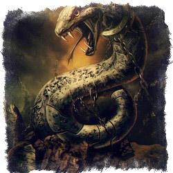 кельтский дракон Нидхёгг
