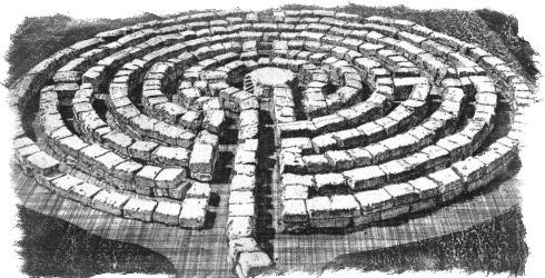 Лабиринт в Кноссе и миф о Минотавре