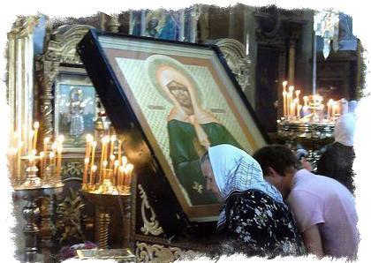 Молитва Матроне Московской о помощи