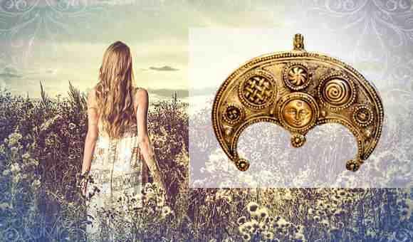 Лунница - женский амулет плодородия