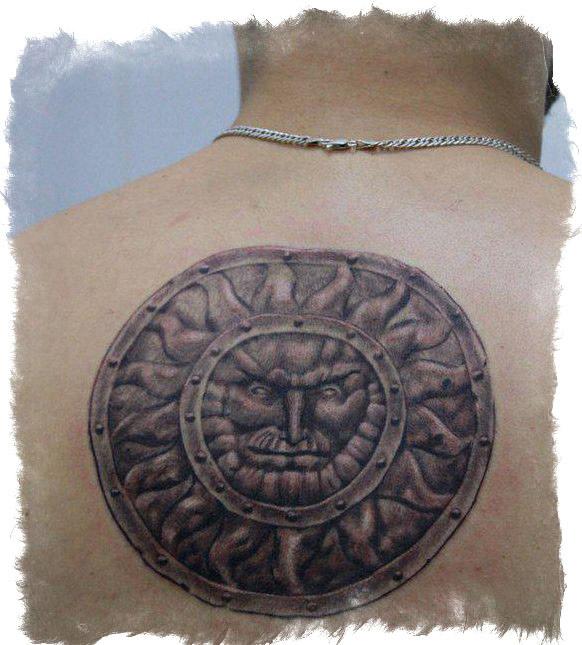Татуировка - оберег Ярило - значение тату