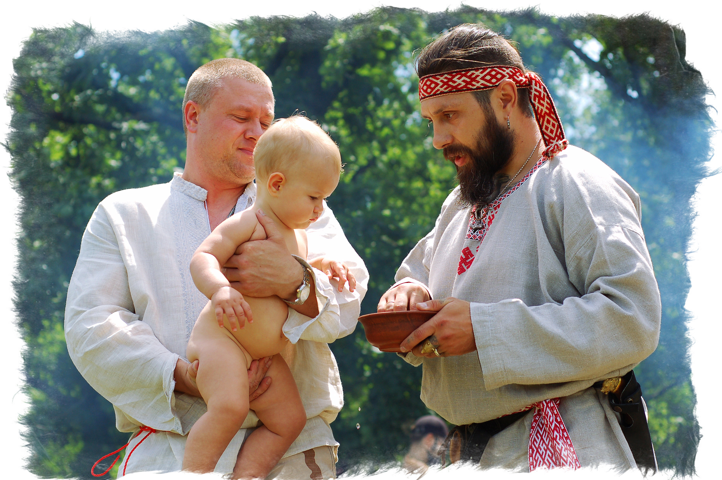 Обряд имянаречения у древних славян