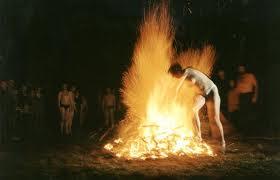 Обряд очищения огнем