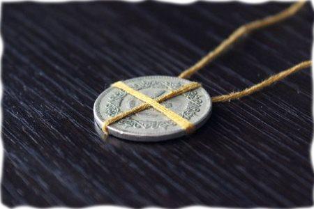 Ордынский амулет на деньги