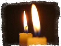 2 свечи