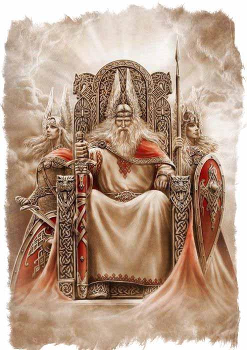 Бог-громовержец Перун