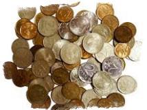 Смертельный обряд с использованием монет
