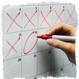 Приметы про месячные — комбинация числа и дня недели