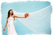 свадебные приметы про платье невесты