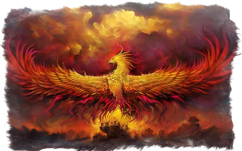 Легенда об огненной птице Феникс