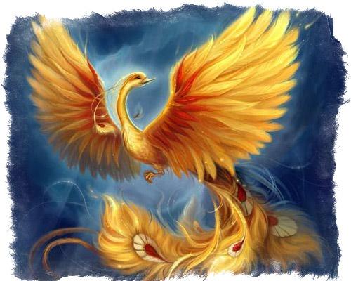Птица Феникс в славянской мифологии - жар птица