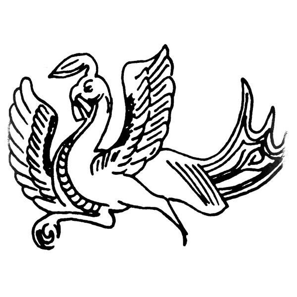 Феникс из Эфиопии - изображение птицы феникс