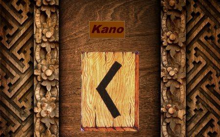 Руна Кано (Кеназ) - значение в гадании на любовь и отношения