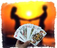 Карточные гадания на 36 картах на любовь