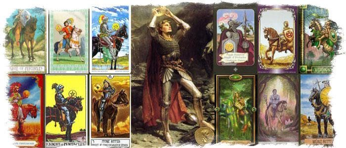7 жезлов рыцарь пентаклей
