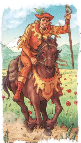 рыцарь пентаклей карта дня