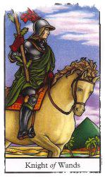 таро рыцарь жезлов