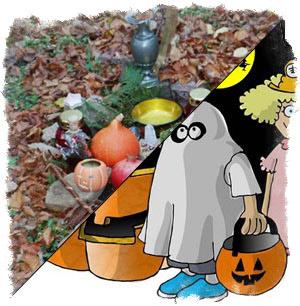 Самайн и Хэллоуин — разные вещи