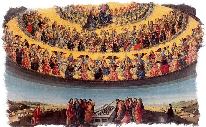 Престолы, Серафимы и Херувимы в разных источниках