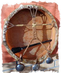 шаманский бубен своими руками